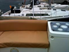 Boat seat covers brown