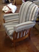 Ercol Chair (striped)